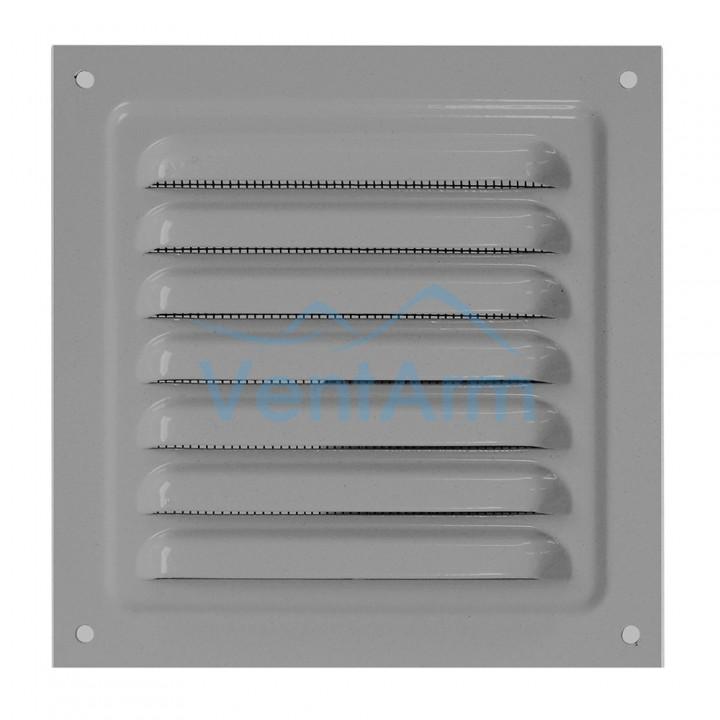 Решетка металлическая с сеткой Vents MBM 150х150 Серый