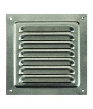Решетка металлическая с сеткой Vents MBM 250х250 Оцинкованный