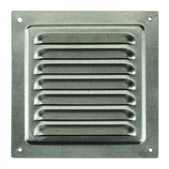 Металлическая решетка с сеткой МВМ 200х200 Оцинкованный