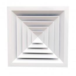 Диффузоры потолочные алюминиевые