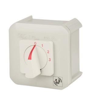 Регулятор для трехскоростных вентиляторов Soler & Palau COM-3