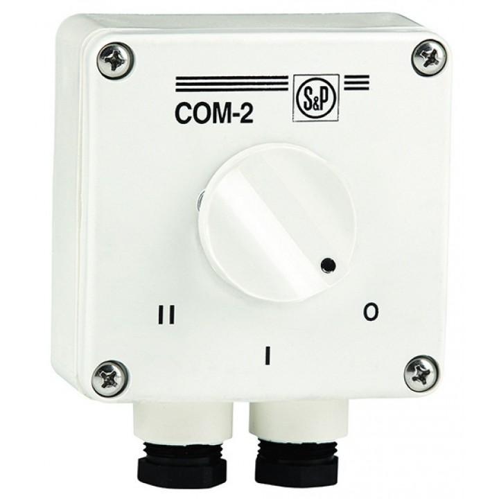Регулятор для двухскоростных вентиляторов COM-2