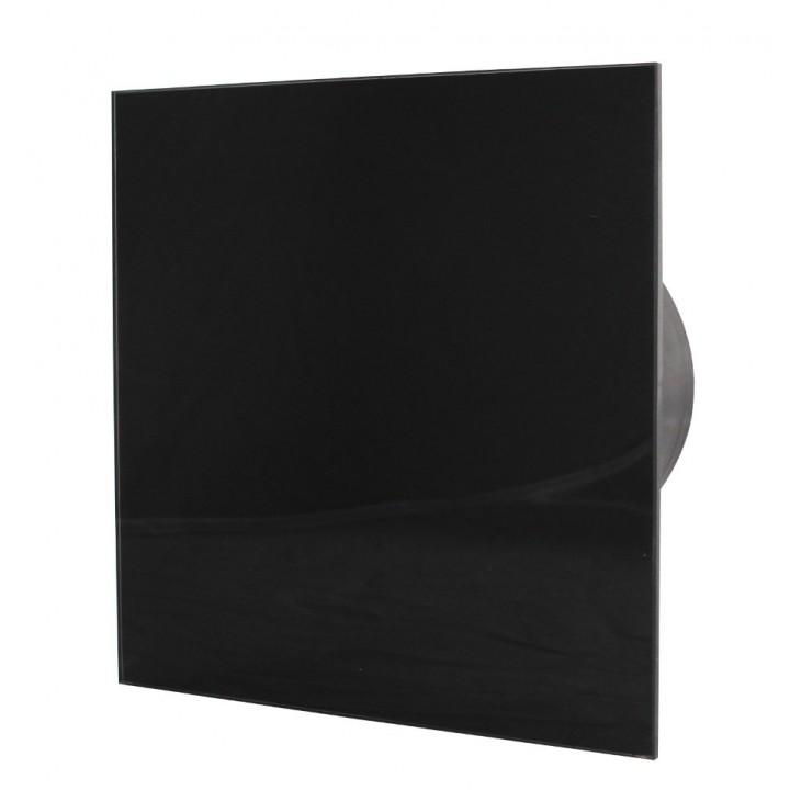Вентилятор накладной ММ-Р 100/105 Черный Глянец стекло