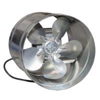 Вентилятор ВКО 250 осевой в канале  (900 m³/h)