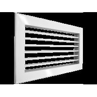 SHUFT Алюминиевая настенная однорядная решетка 1WA 500x150