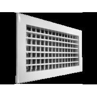 SHUFT Алюминиевая настенная двухрядная решетка 2WA 400x200