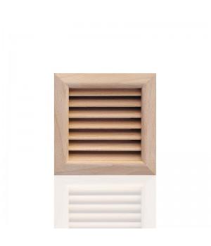 Деревянная решетка, бук 112x112