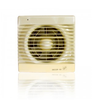 (Soler & Palau) Вентилятор накладной Decor 100C IVORY