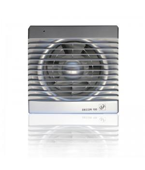 Вытяжной вентилятор Soler & Palau Decor 100 C 13 Вт SILVER