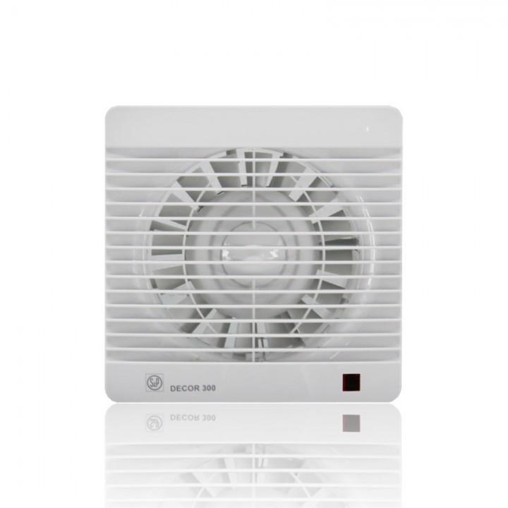 (Soler & Palau) Вентилятор накладной Decor 300R c Таймером