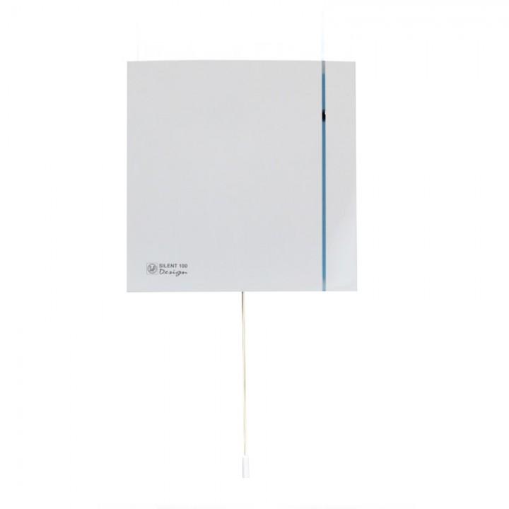 (Soler & Palau) Вентилятор накладной SILENT-100 CMZ DESIGN со шнурком
