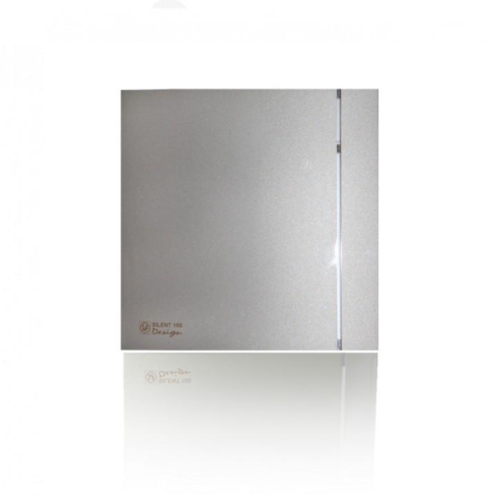 (Soler & Palau) Вентилятор накладной SILENT-100 CRZ SILVER DESIGN c Таймером