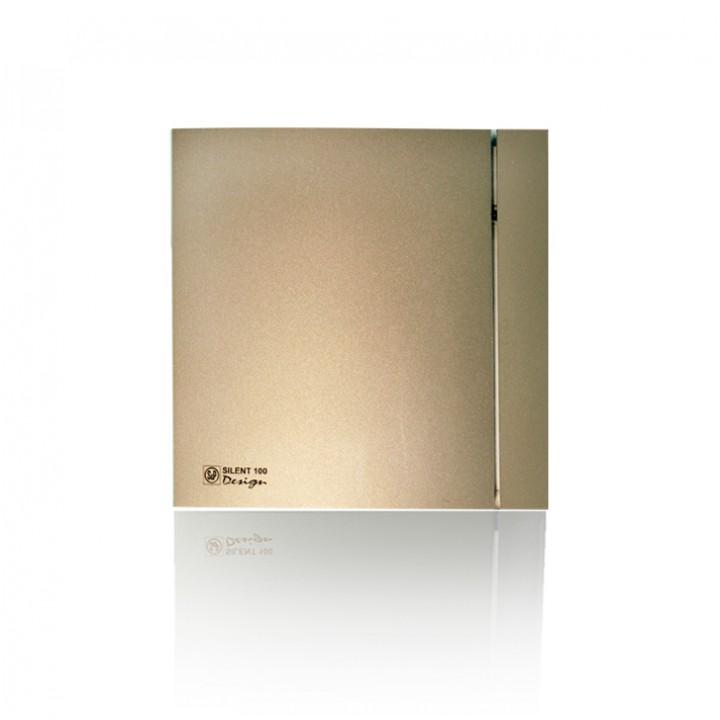 (Soler & Palau) Вентилятор накладной SILENT-100 CZ CHAMPAGNE DESIGN-4С