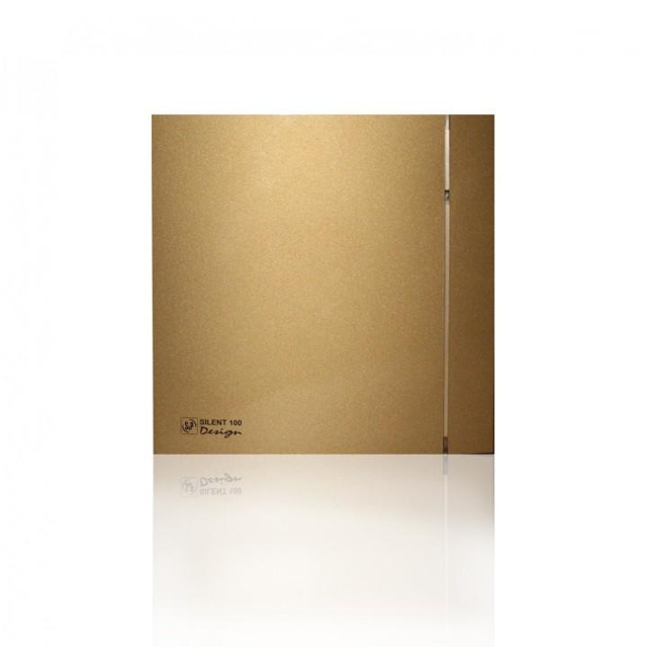 (Soler & Palau) Вентилятор накладной SILENT-100 CRZ GOLD DESIGN-4C c Таймером