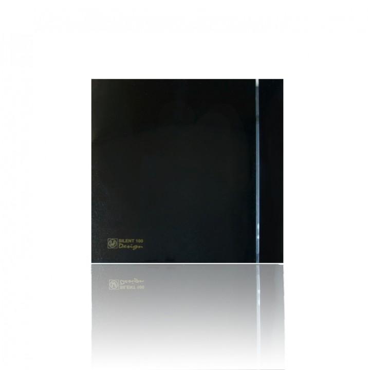 Вентилятор накладной Soler & Palau SILENT-200 CZ BLACK DESIGN-3C