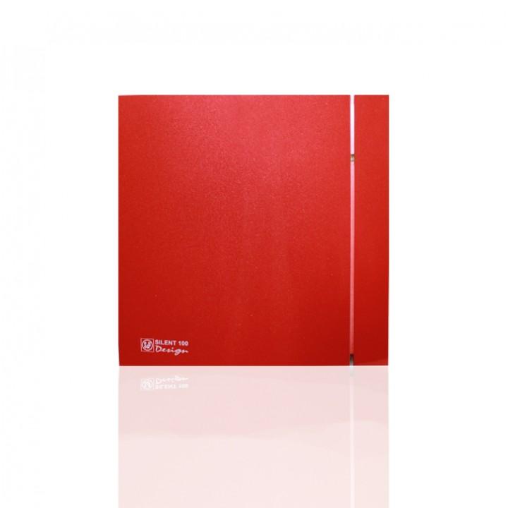 (Soler & Palau) Вентилятор накладной SILENT-200 CZ RED DESIGN-4C