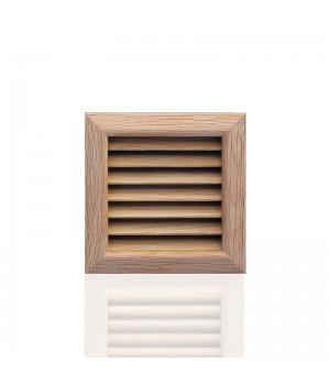 Деревянная решетка, дуб 112x112