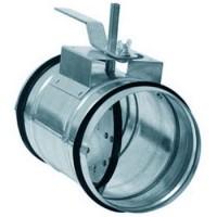 (АРКТОС) Клапаны для круглых воздуховодов КВК-630M