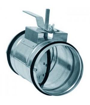 Клапаны для круглых воздуховодов КВК-100M
