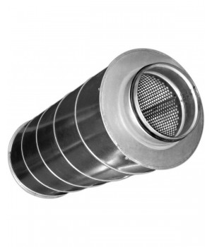 (DIAFLEX) Шумоглушители для круглых каналов SAR 100/600