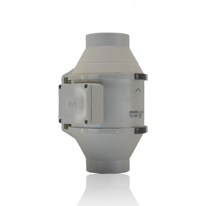 (Soler & Palau) Вентилятор канальный TD 250/100  T c Таймером