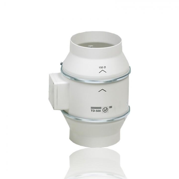 Канальный вентилятор Soler & Palau TD 500/150 T c Таймером