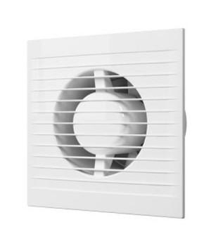 Вентилятор осевой c антимоскитной сеткой, обратным клапаном D100