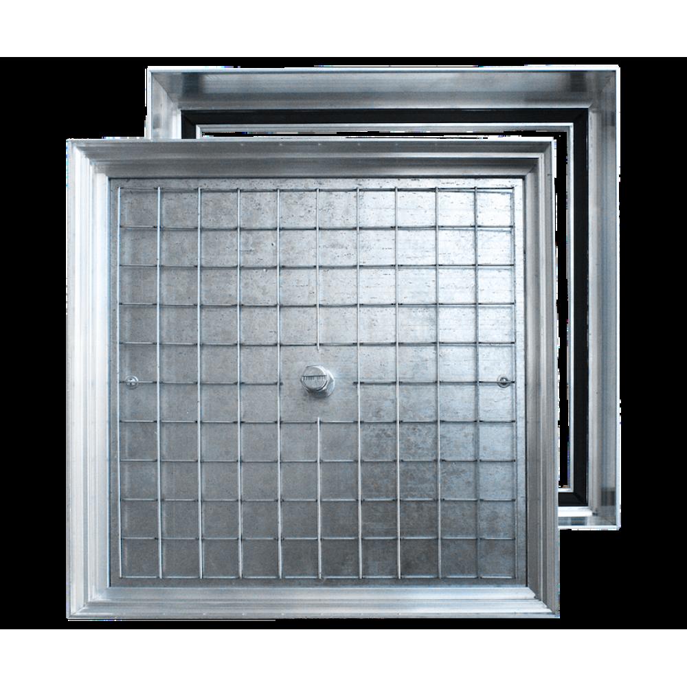Люк напольный съемный ALKRAFT  Инспектор 700х700