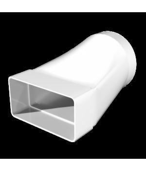 Соединитель плоских и круглых каналов 60х204-Ø160