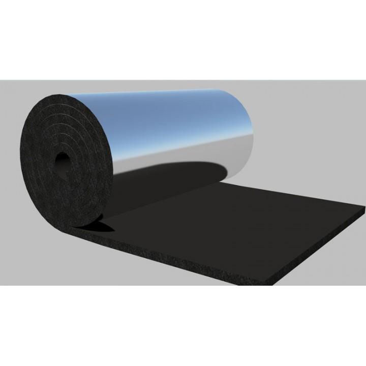 Теплоизоляция фольгированная самоклеющаяся Ру-флекс СТ-СК АЛЮ 06х1000-30м