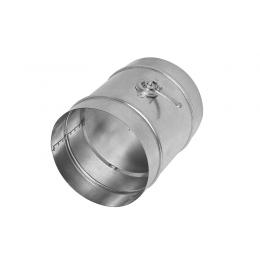 Дроссель-клапан для круглых каналов