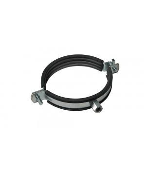 Хомут для воздуховода с резиновым профилем М8 100мм
