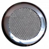Решетка на магнитах КП-120 Нержавейка зеркальная круглая