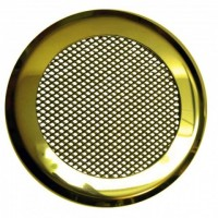 Решетка на магнитах КП-100 Золото круглая