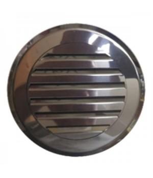 Решетка круглая жалюзи Родфер КП-100 Нержавейка