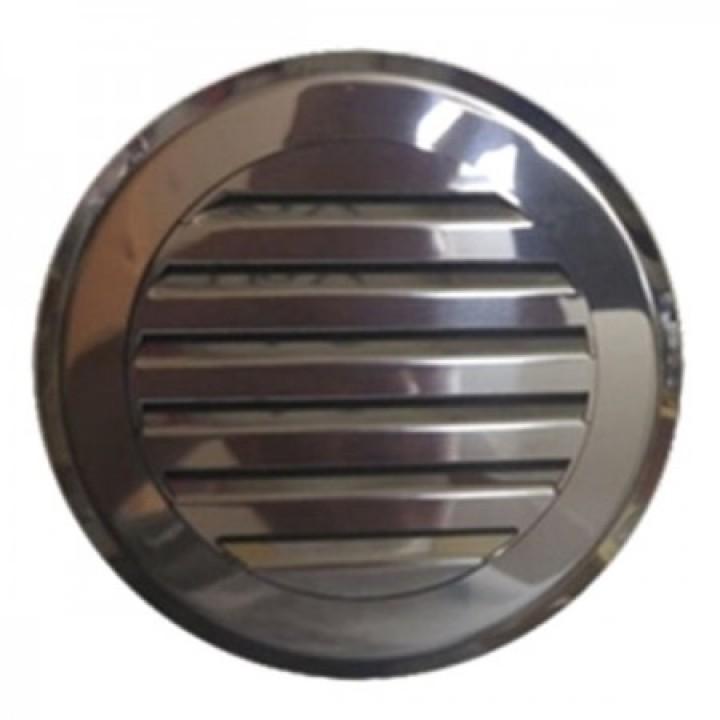 Решетка круглая жалюзи Родфер КП-120 Нержавейка