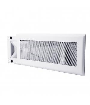 Решетка Родфер РП-220x90 Белая на магните (под пластиковый короб)