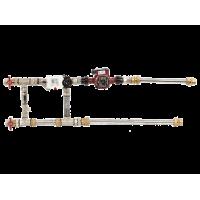 Смесительный узел с гибкими подводками Shuft MST 25-80-6.3-C24-F-TC