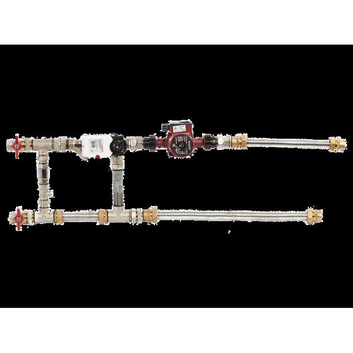 Смесительный узел с гибкими подводками Shuft MST 32-80-16.0-C24-F-TC