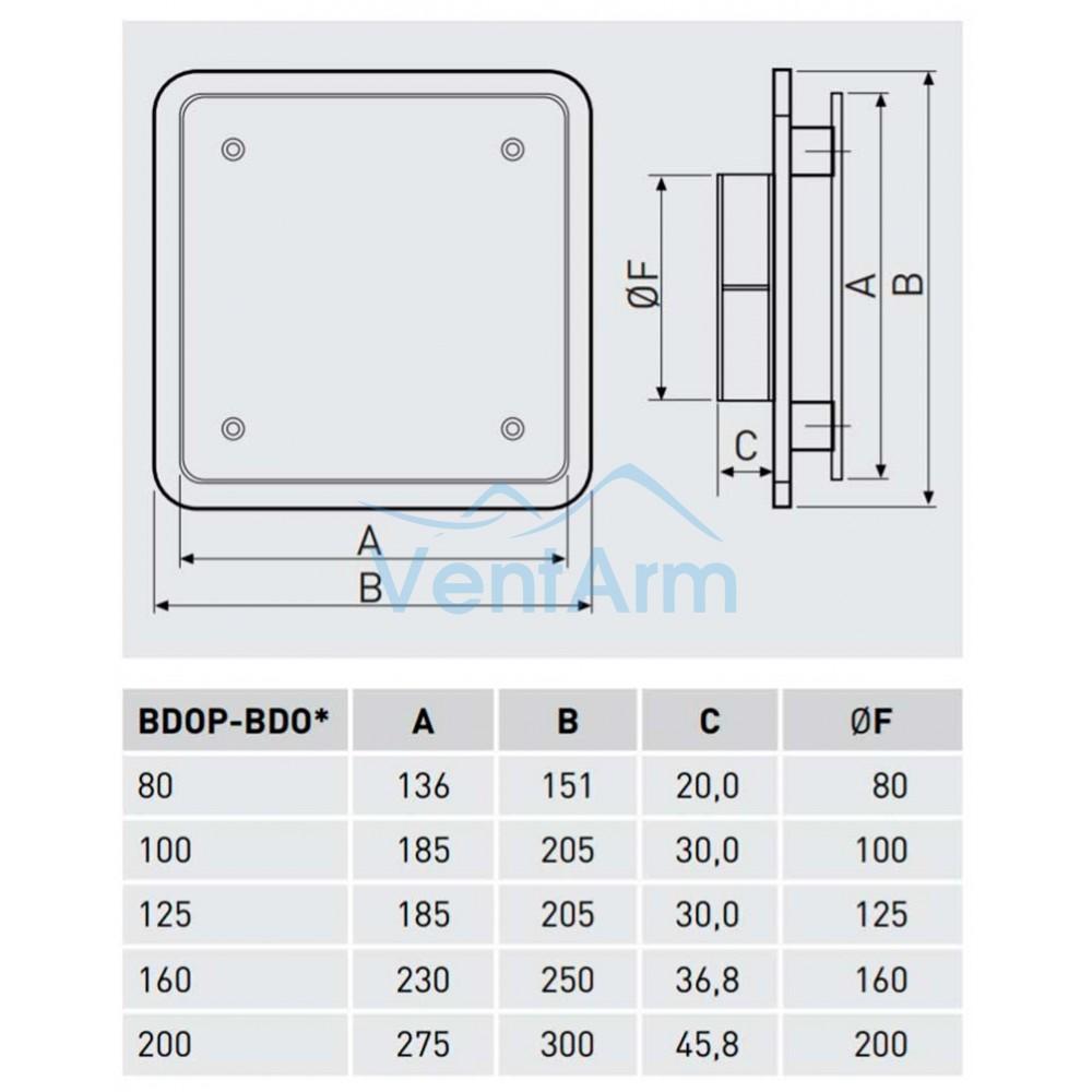 Диффузор универсальный Soler & Palau BDO-200
