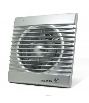Вытяжной вентилятор Soler & Palau DECOR 200 C 20 Вт SILVER