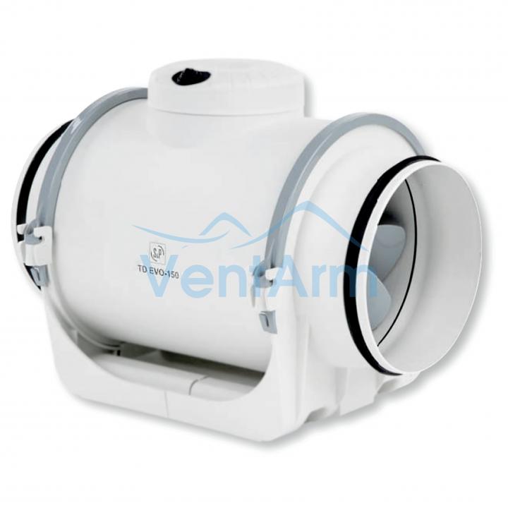 Канальный вентилятор Soler & Palau TD-EVO 125