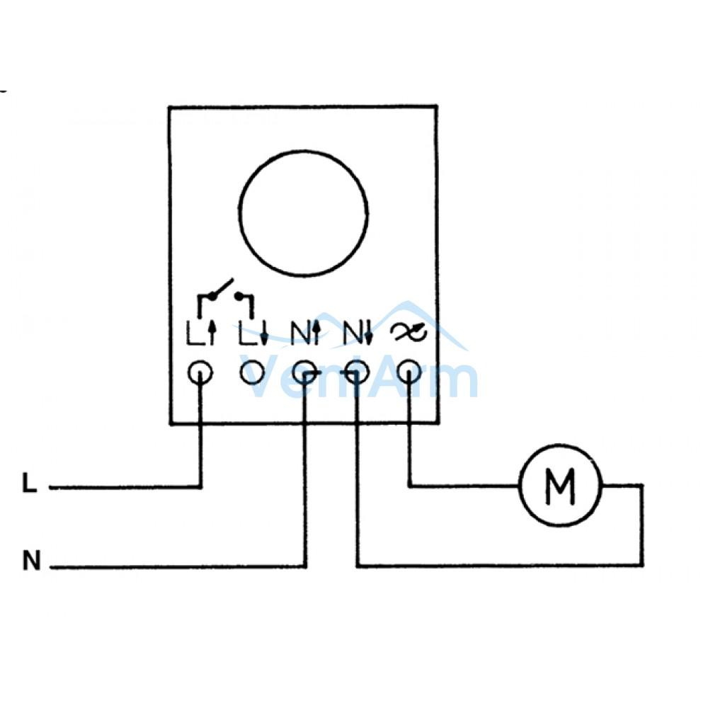 Электронный регулятор скорости Soler & Palau Reb-1NE