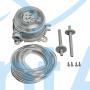 Реле давления дифференциальное механическое S+S Regeltechnik DS-205 B 50-500 Па