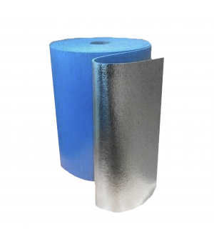Утеплитель фольгированный самоклеящийся 10мм С 10-9м2 (Цена за П/М)