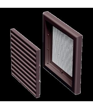 Решетка пластиковая VENTS МВ 100 с коричневый