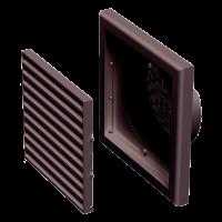 Решетка пластиковая VENTS МВ 100 Вс коричневый