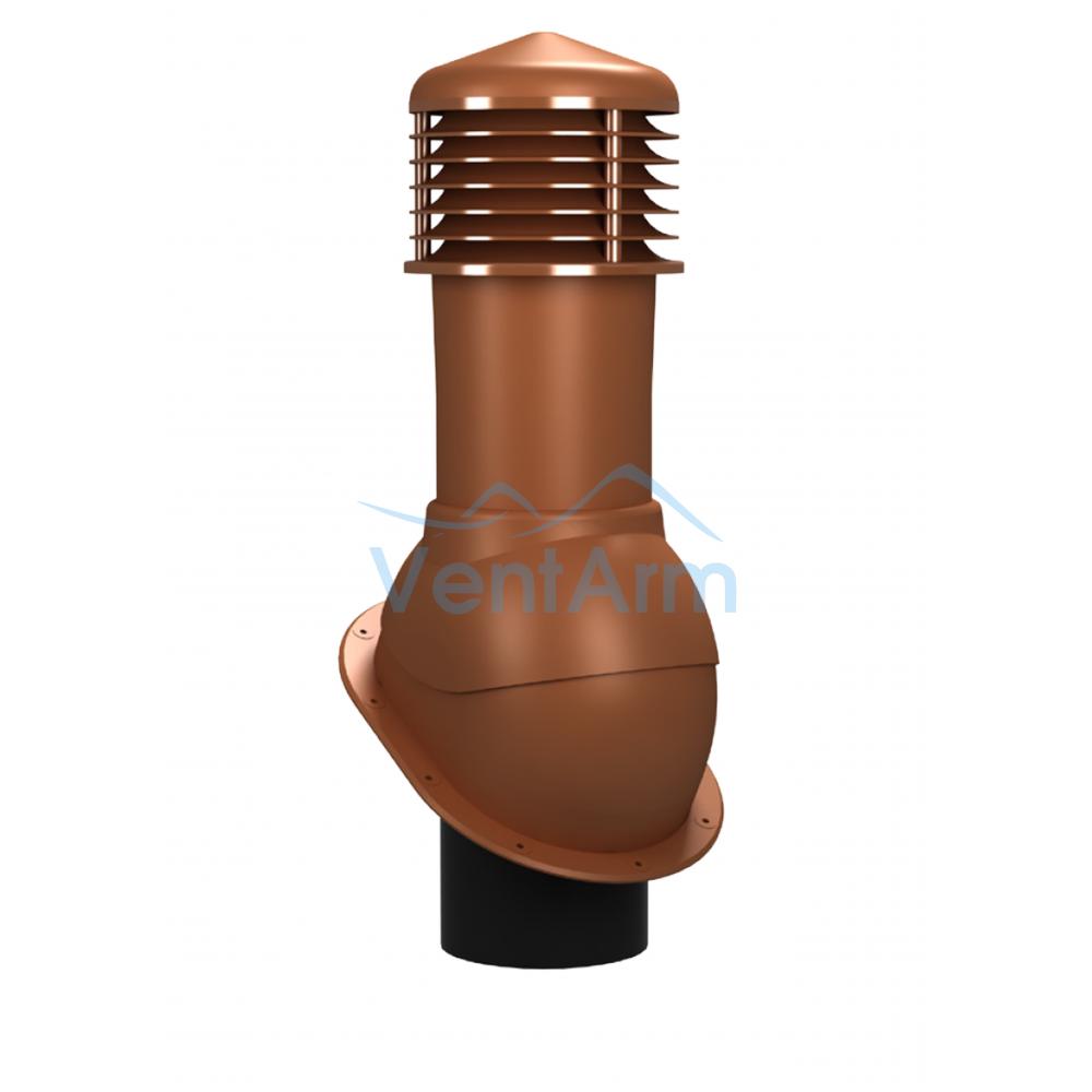 Вентиляционный выход неизолированный WIRPLAST NORMAL K52 150/500 Терракот
