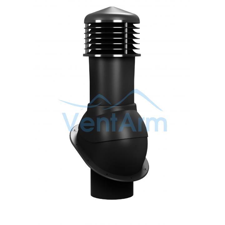 Вентиляционный выход неизолированный WIRPLAST NORMAL K52 150/500 Чёрный