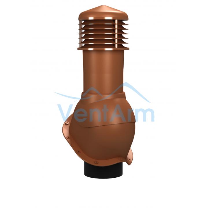 Вентиляционный выход неизолированный WIRPLAST PERFEKTA K53 150/500 Терракот